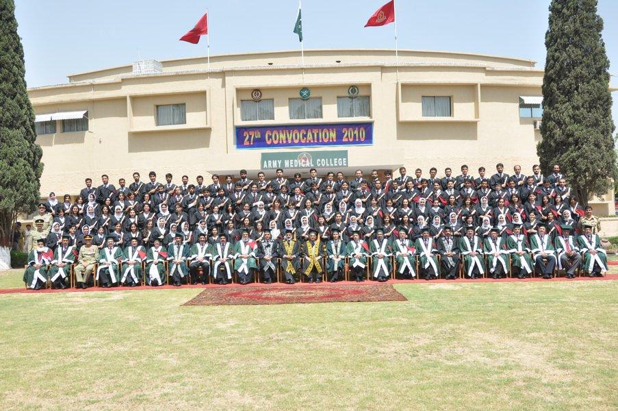 Twelvth Merit List For MBBS/BDS Army Medical College, Rawalpindi 2017-18