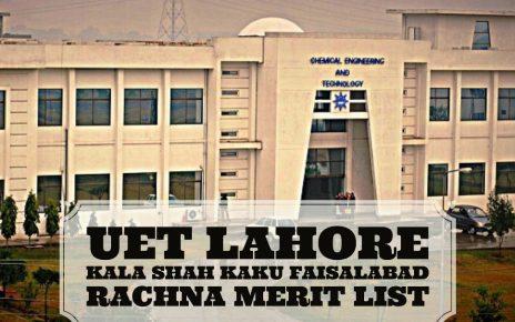 Nust Ms 2019 Merit List